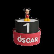 Tarta de pañales primer cumpleaños Mickey-Minnie