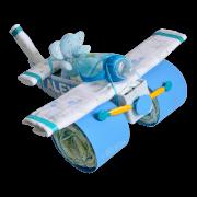Avión de pañales
