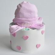 baby shower detalle tarta de pañales