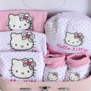 canastilla de recien nacido hello kitty