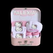 canastillas para baby shower hello kitty
