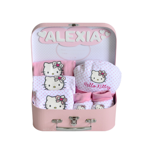 canastillas para baby shower hello kitty