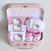 cestas para el bebé hello kitty