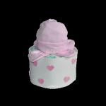 mini tarta de pañales baby