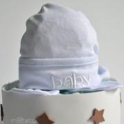 pastel de pañales recien nacido detallito