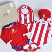 regalo nacimiento bebé Atlético de Madrid