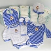 regalo recién nacido real madrid