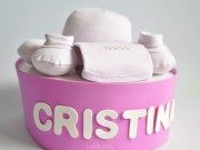 regalo nacimiento tarta de pañales un piso niña