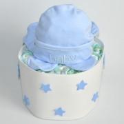 tarta de pañales niño baby
