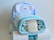 tartas de pañales para baby shower