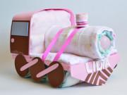 tren de pañales para niña