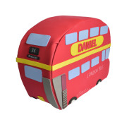 Figura de pañales creativa autobús Londres