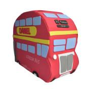 Autobús pañales de Londres con regalos para el bebé