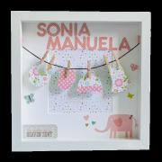 regalo recién nacido personalizado
