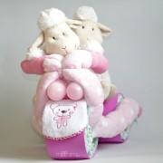 regalo nacimiento para bebes mellizos