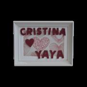 Cuadro decoración para regalar a la yaya