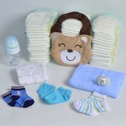 regalo con pañales para baby shower