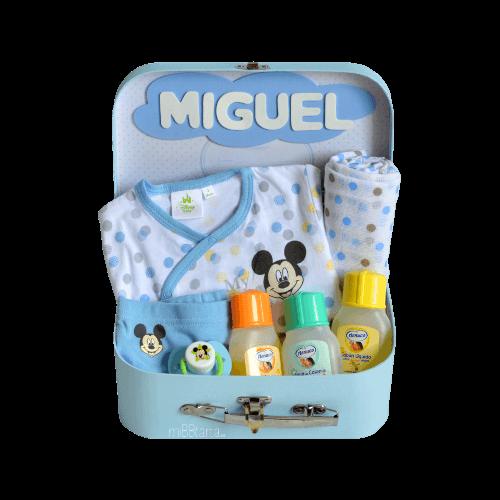 canastilla bebe verano Mickey