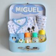 canastilla recién nacido mickey minnie