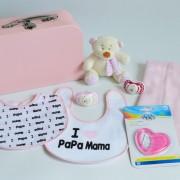 canastillas y cestas para recién nacido