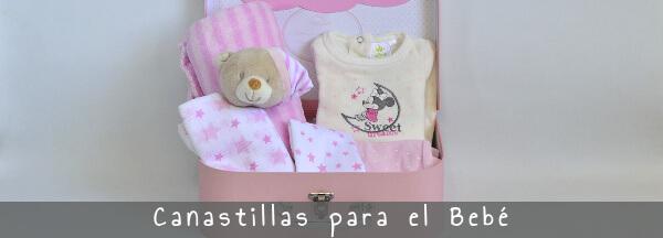 Canastillas para el bebé, cestas para regalar al recién nacido