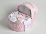 cuna de pañales regalo para bebe