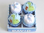 cupcakes de pañales originales
