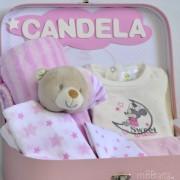 canastilla baby shower Mickey Minnie