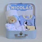 canastilla bebé Mickey Minnie