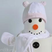 regalo de navidad para bebe muñeco de nieve