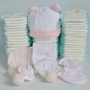 tartas de pañales online muñeco de nieve
