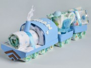 tren de pañales niño