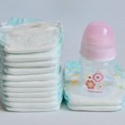 detalles con pañales para bebés