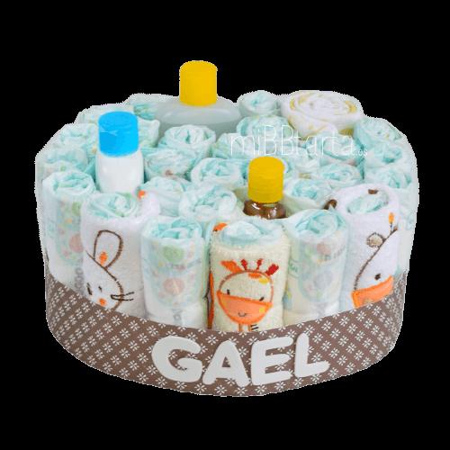 pasteles de pañales