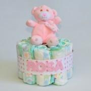 tarta de pañales personalizada