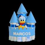 Castillo de pañales Disney