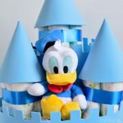 castillo de pañales niño