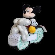 moto de pañales Mickey