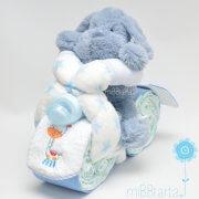 moto Dodot azul