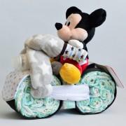 regalo con pañales Mickey