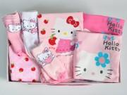 canastilla de nacimiento Hello Kitty