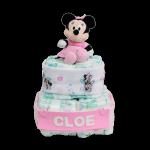 Tarta de pañales Regalo Mickey o Minnie