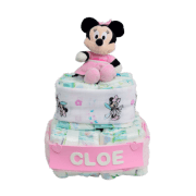 Tarta de pañales Regalo Mickey o Minnie