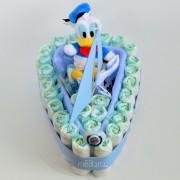 tarta de pañales barco