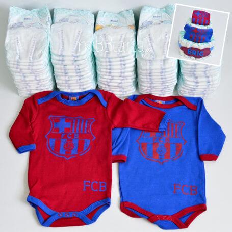 ... FC Barcelona regalo bebe Barça canastilla Barcelona b40dc43f64b