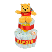 Tarta de pañales Winnie The Pooh