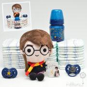 Tarta de pañales Harry Potter